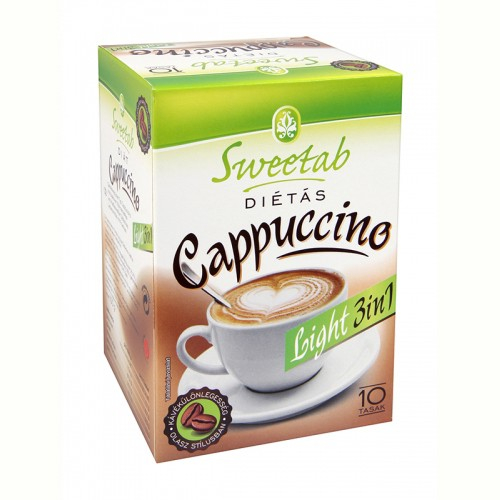 Cappuccino dietetic 3in1 100g - Sweetab