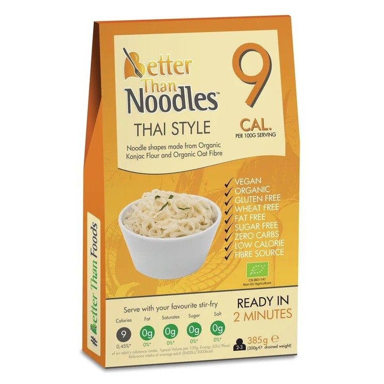 Taietei Thai Eco din konjac 385g - Better than Foods