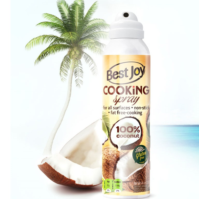 Mini ulei spray cu cocos 100ml - Best Joy