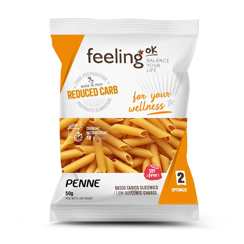 Paste Low-Carb Penne 50g (Faza 2) - FeelingOK