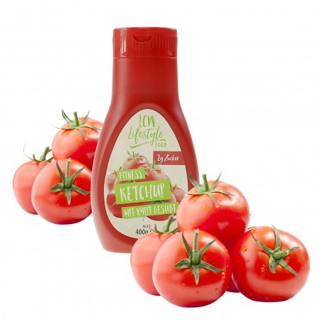 Ketchup Fitness cu Xilitol 400g - LCW