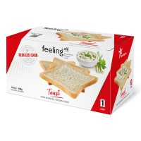 Toast Low-Carb 160g (Faza 1) - FeelingOK