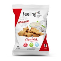 Crackers Low-Carb 50g (Faza 1) - FeelingOK