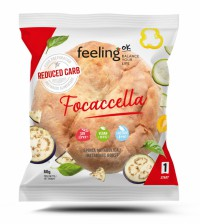 Focaccia Low-Carb 80g (Faza 1) - FeelingOK