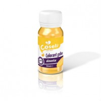 Colorant alimentar galben 50 ml - Coseli