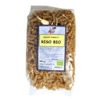 Paste eco Fusilli din orez integral 500g