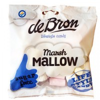 MarshMallows (bezele) 75g  - DeBron