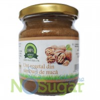 Unt vegetal din samburi de nuca pur raw 200g - Green Natural Oil