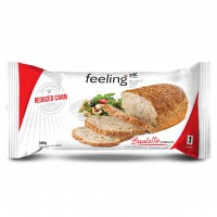 Paine Low-Carb cu cereale 300g (Faza 1) - FeelingOK