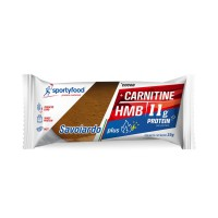 Biscuit proteic cu carnitina si cacao Savoiardo 35 gr - Sportyfood
